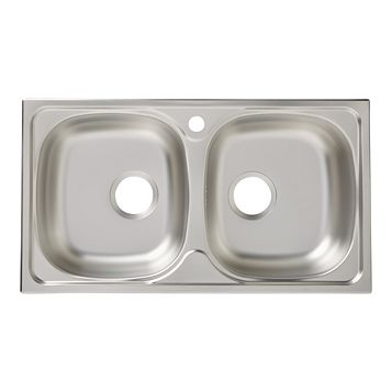 Bohm 2 Bowl Stainless Steel Sink