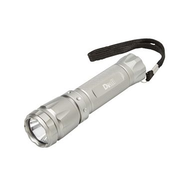 Diall 130lm Aluminium LED Torch