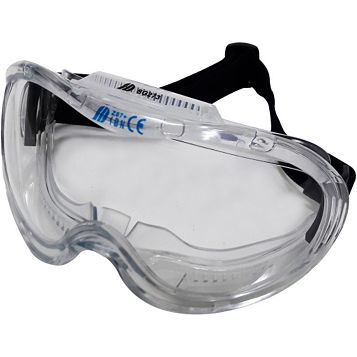 Site Black Impact Safety Goggles