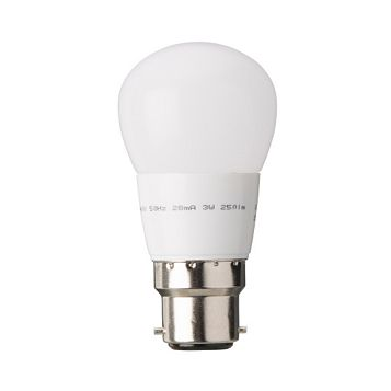 Diall Bayonet Cap (B22) 3.2W LED Ball Light Bulb