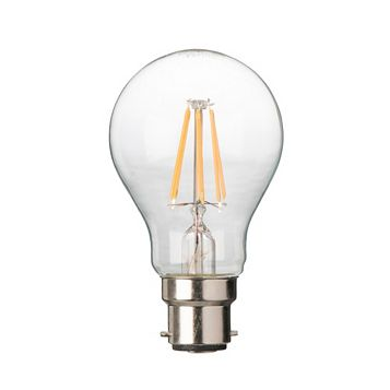 Diall Bayonet Cap (B22) 6W LED Filament Classic Light Bulb