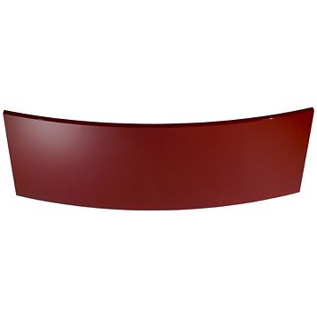 Cooke & Lewis Raffello High Gloss Red Slab Curved Pan Drawer (W)1000mm