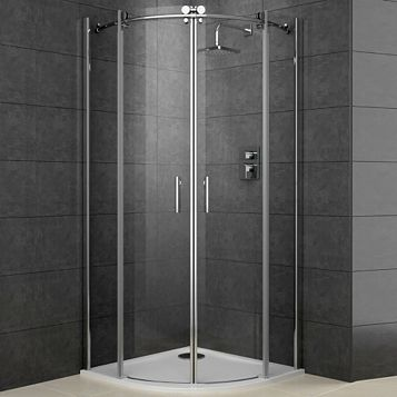 Cooke & Lewis Eclipse Quadrant Shower Tray