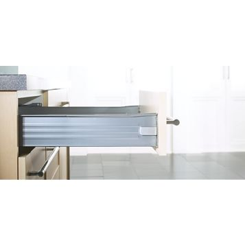 IT Kitchens Grey Drawer Box, 85 x 238 x 450mm