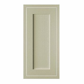 Cooke & Lewis Carisbrooke Taupe Framed Tall Standard Door (W)400mm