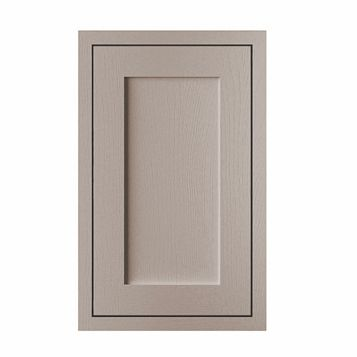 Cooke & Lewis Carisbrooke Taupe Framed Standard Door (W)450mm