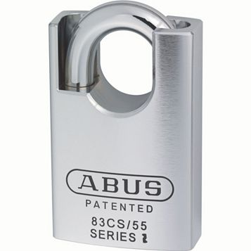 Abus 83 Series Cs Steel Keyed Padlock (W)55mm