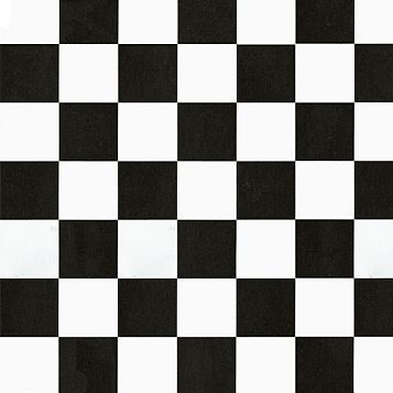 D-C-Fix Checkerboard Black & White Self Adhesive Film (L)2 M (W)450mm
