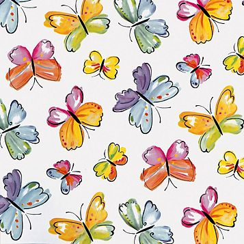 D-C-Fix Butterflies Multicolour Self Adhesive Film (L)2m (W)45cm