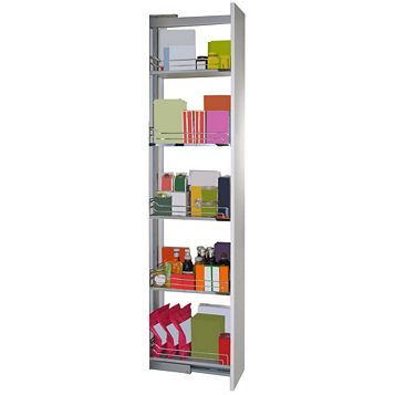 Kesseböhmer Pull-Out Larder Storage, 300mm