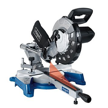 Scheppach 2000W 254mm Sliding Mitre Saw