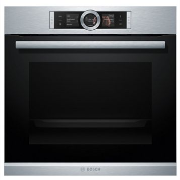 Bosch HBG6764S1B Stainless Steel Electric Multifunction Pyrolytic Single Oven