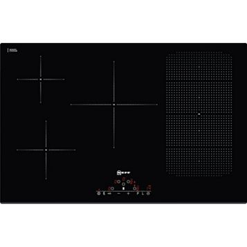 Neff T51D86X2 6 Burner Black Ceramic Glass Electric Flex induction Hob