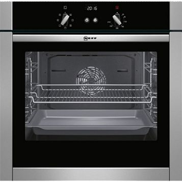 Neff B44M42N5GB Stainless Steel Electric Slide & Hide Single Oven