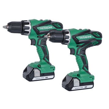 Hitachi Li-Ion Combi Drill & Drill Driver Battery Included KC18DGL/JB