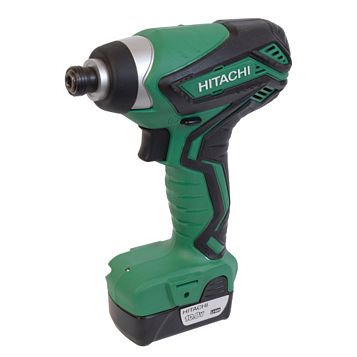 Hitachi Cordless 10.8V Li-Ion Impact Driver 2 Batteries WH10DFL2/JL