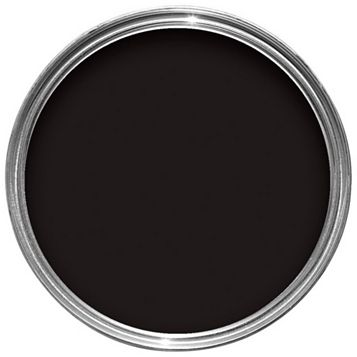 Sandtex One Coat Exterior Black Gloss Paint 2.5L