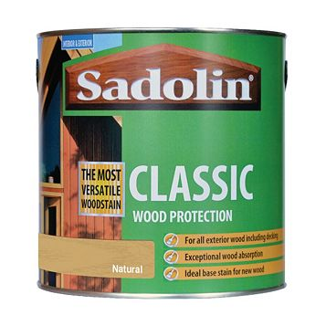Sadolin Protection Natural Wood Protection