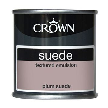 Crown Plum Suede Matt Emulsion Paint 0.125L Tester Pot