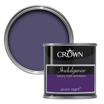 Crown Prom Night Matt Emulsion Paint 0.125L Tester Pot