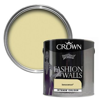 Crown Innocence Flat Matt Emulsion Paint 2.5L