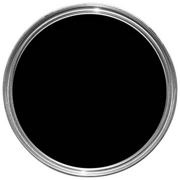 Sandtex Exterior Black Satin Wood & Metal Paint 0.75L