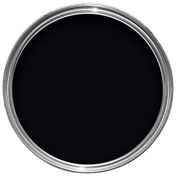 Dulux Once Interior Black Gloss Paint 750ml