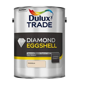 Dulux Trade Diamond Interior Magnolia Eggshell Paint 5L