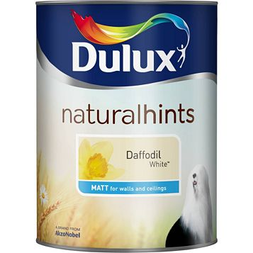 Dulux Emulsion Paint Daffodil White, 5L
