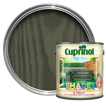 Cuprinol Garden Somerset Green Wood Paint 2.5L