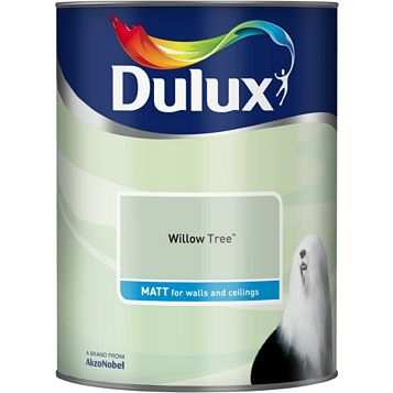 Dulux Emulsion Paint Willow Tree, 5L