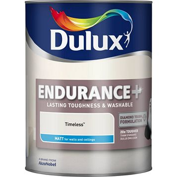 Dulux Endurance Timeless Matt Emulsion Paint 5L