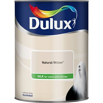 Dulux Emulsion Paint Natural Wicker, 5L