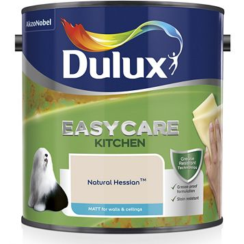 Dulux Kitchen + Natural Hessian Matt Emulsion Paint 2.5L