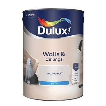 Dulux Emulsion Paint Just Walnut, 5L