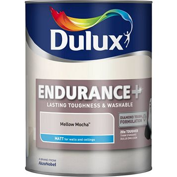 Dulux Endurance Mellow Mocha Matt Emulsion Paint 5L