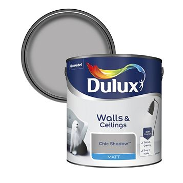 Dulux Chic Shadow Matt Emulsion Paint 2.5L