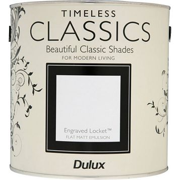 Dulux Timeless Classics Engraved Locket Matt Emulsion Paint 2.5L