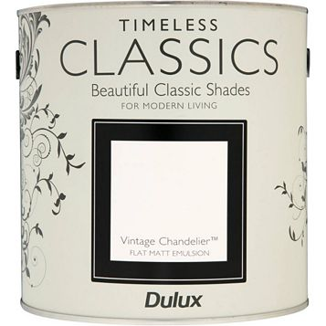 Dulux Timeless Classics Vintage Chandelier Matt Emulsion Paint 2.5L