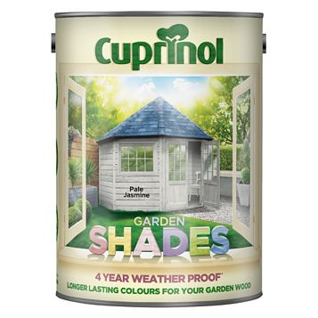 Cuprinol Garden Pale Jasmine Wood Paint 5L