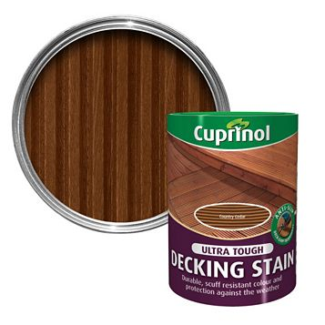 Cuprinol Ultra Tough Country Cedar Decking Stain 5L