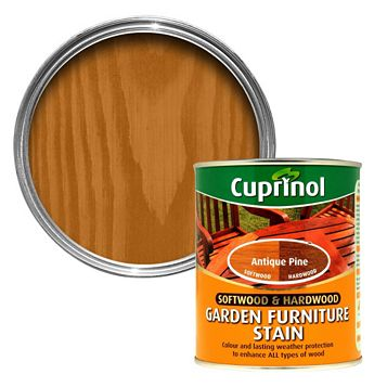 Cuprinol Softwood & Hardwood Antique Pine Garden Furniture Stain 750ml