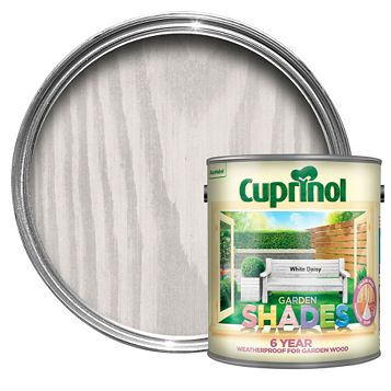 Cuprinol Garden White Daisy Wood Paint 2.5L