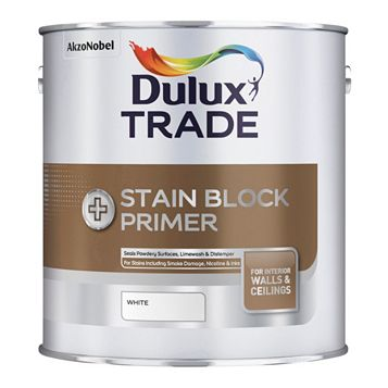 Dulux Trade Stain Block White, 2.5L