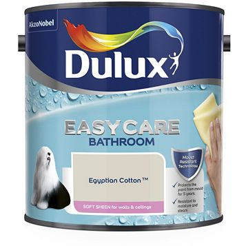 Dulux Bathroom Egyptian Cotton Soft Sheen Emulsion Paint 2.5L