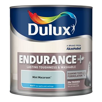 Dulux Endurance Mint Macaroon Matt Emulsion Paint 2.5L