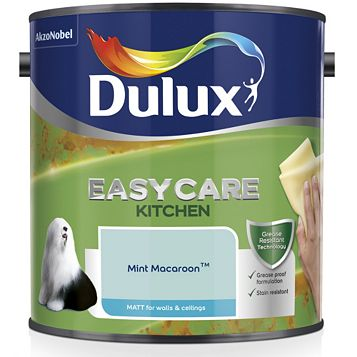 Dulux Kitchen Mint Macaroon Matt Emulsion Paint 2.5L