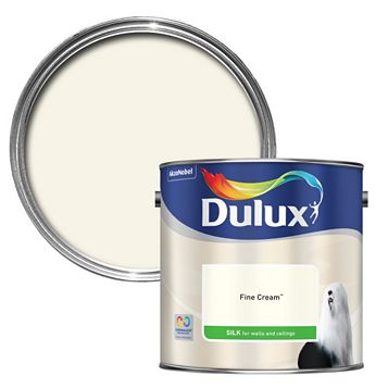 Dulux Standard Fine Cream Silk Paint 2.5L