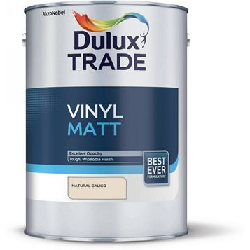 Dulux Trade Natural Calico Matt Emulsion Paint 5L