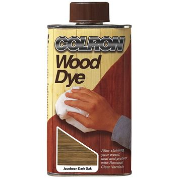 Colron Wood Stain Jacobean Dark Oak, 250ml